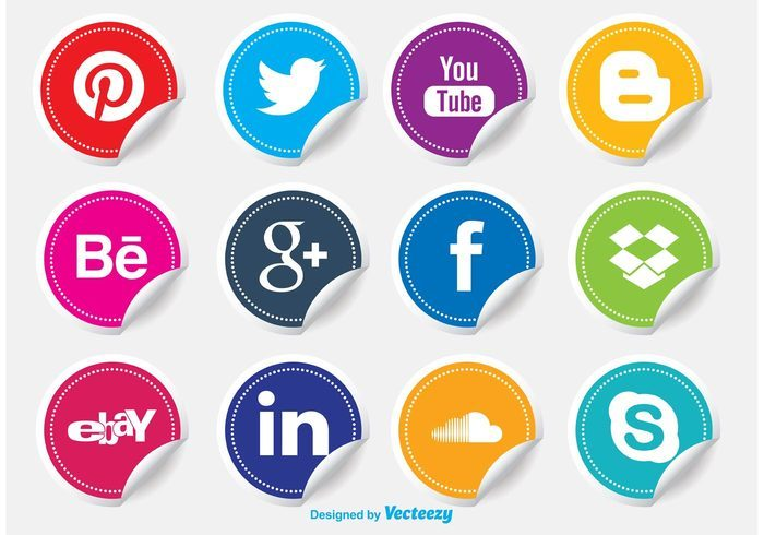 vector-social-media-icon-stickers