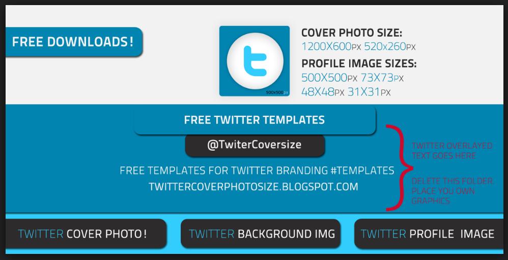 20 Free Twitter Header Templates